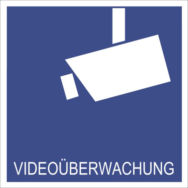 Piktogramm Videoüberwachung